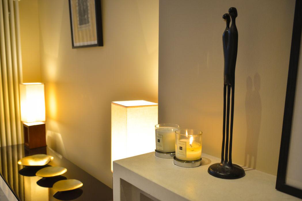 Living Room, detail Cathy Phillips & Co Вітальня