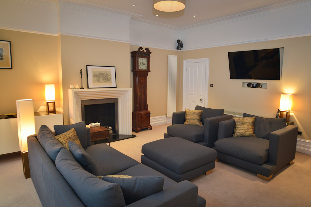 Living Room Cathy Phillips & Co Classic style living room