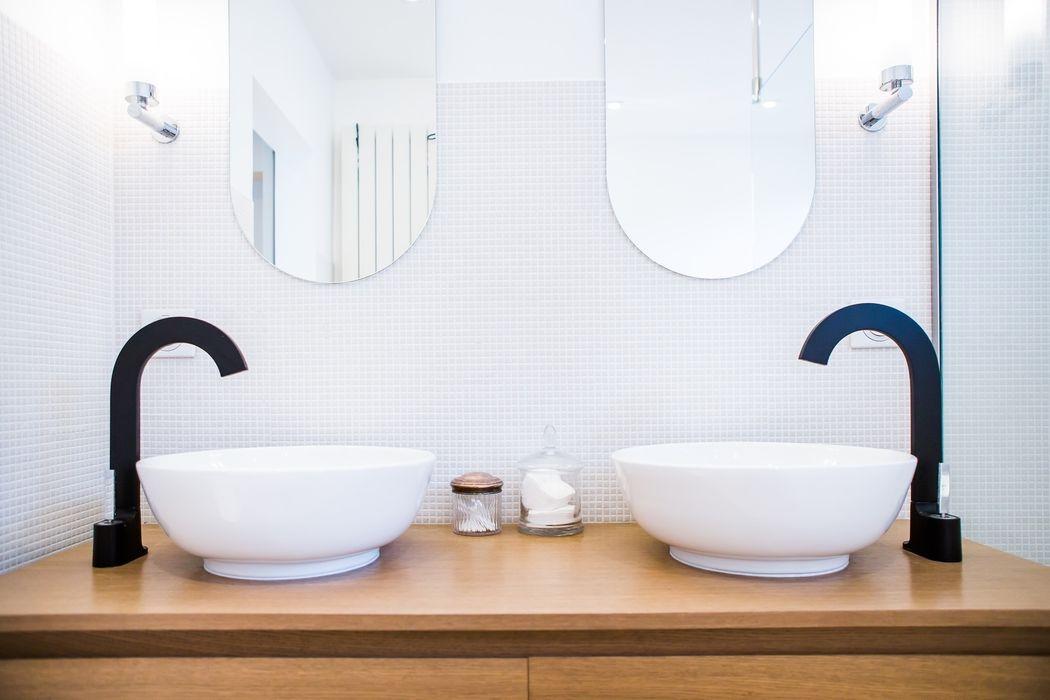 Appartement Neuilly-sur-Seine Hélène de Tassigny Salle de bain moderne