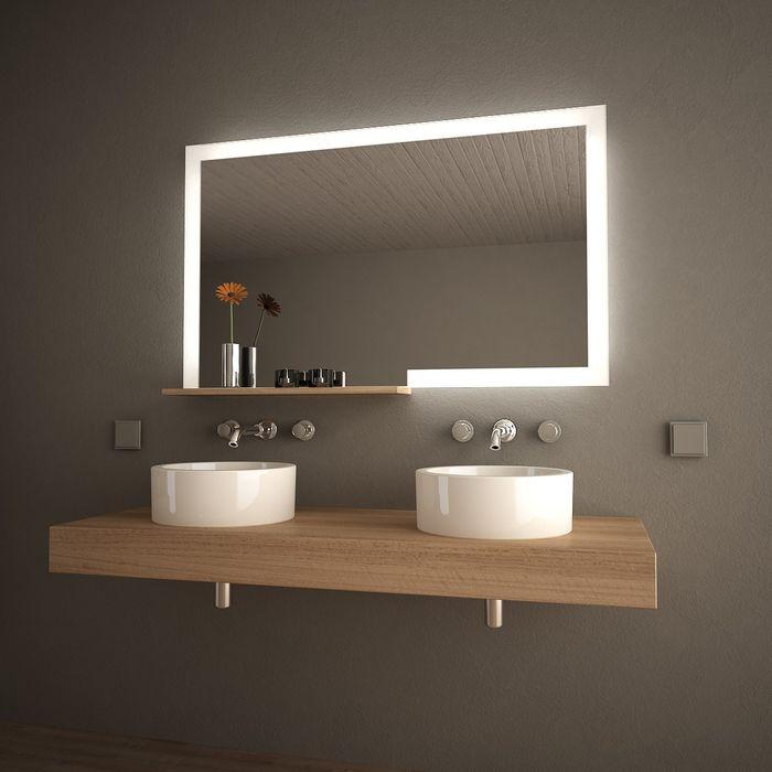 Spiegelmöbel mit Ablage Forma Lionidas Design GmbH BadezimmerSpiegel
