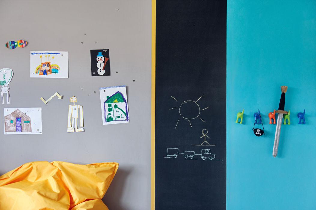 Apartament w Gdyni 2012 formativ. indywidualne projekty wnętrz Skandynawski pokój dziecięcy