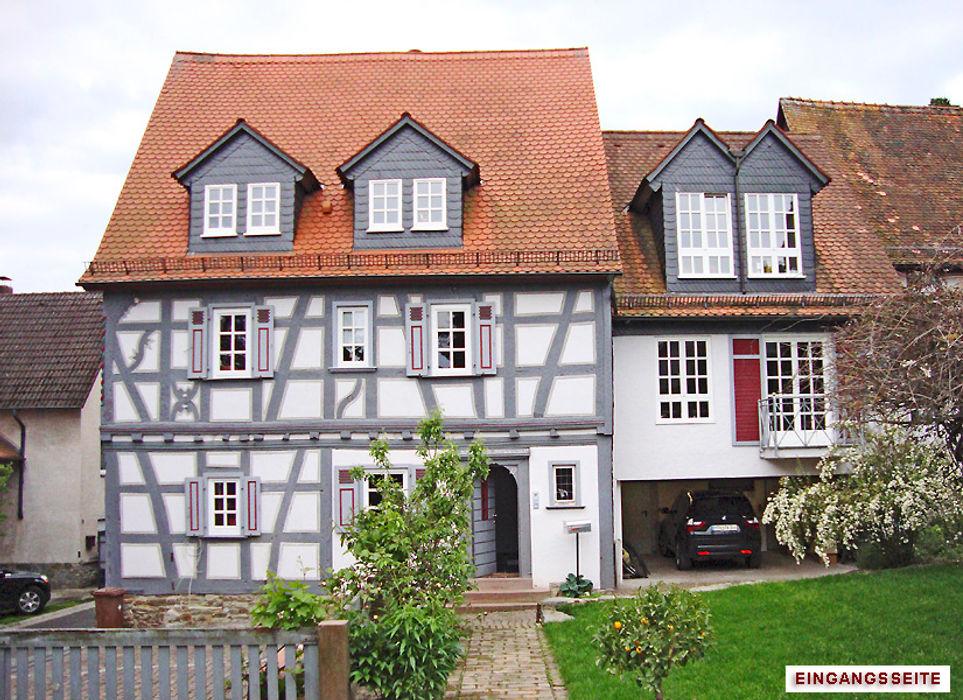 Umbau/Sanierung denkmalgeschütztes Wohnhaus, Kronberg i.Ts. Architekturbüro Hans-Jürgen Lison Koloniale Häuser