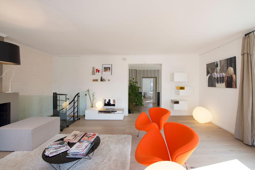 Maison individuelle Le Chesnay Hélène de Tassigny Salon moderne