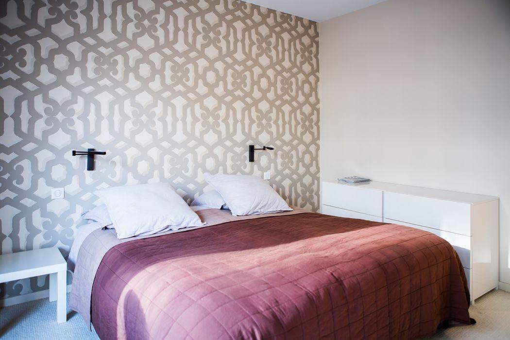 Appartement Neuilly-sur-Seine Hélène de Tassigny Chambre moderne