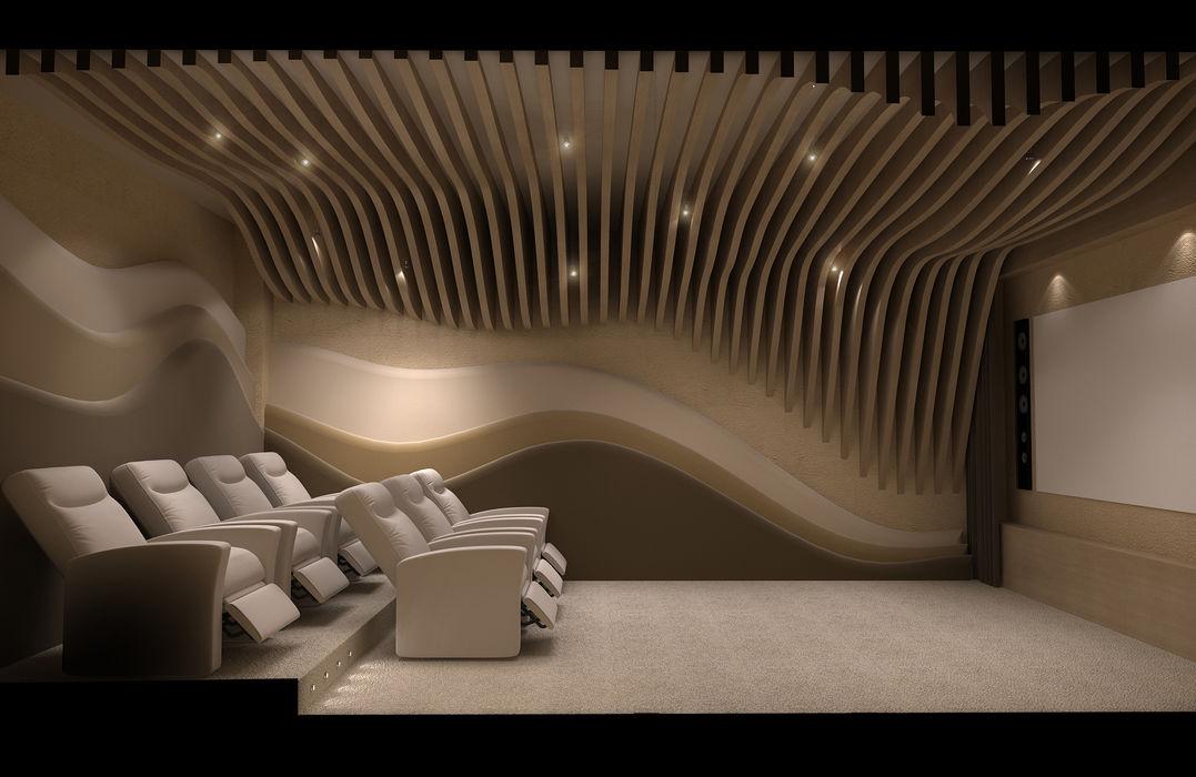 Sinema Salonu Dek 01 Latis Mimarlık ve İnşaat İç Dekorasyon