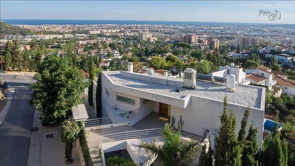 Fachada Per Hansen Casas de estilo minimalista