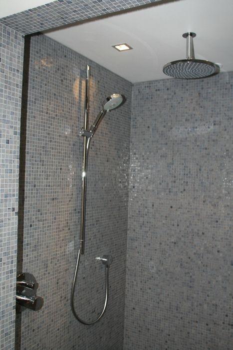 Hoofddouche met glijstang en handdouche Bad & Design Moderne badkamers