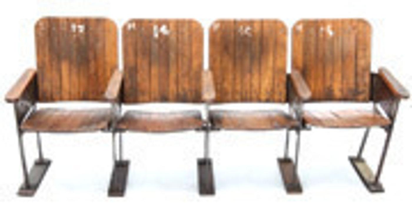 Vintage Cinema Seats Vintage Archive HouseholdHomewares