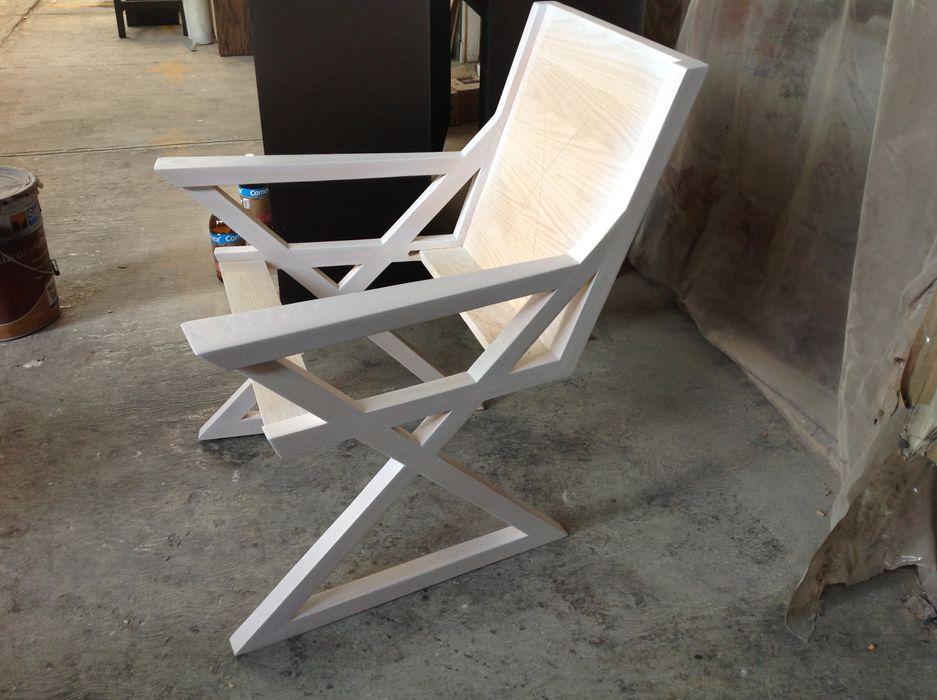 UP-A mobiliario por Jorge Torres y Mariana Verdiguel Balconies, verandas & terraces Furniture