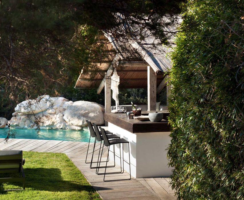 Pool House TG Studio Mediterranean style pool