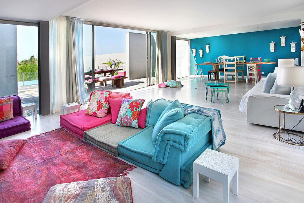 HAPPY HOME 2014 ROSA PURA HOME STORE Salas de estar mediterrânicas