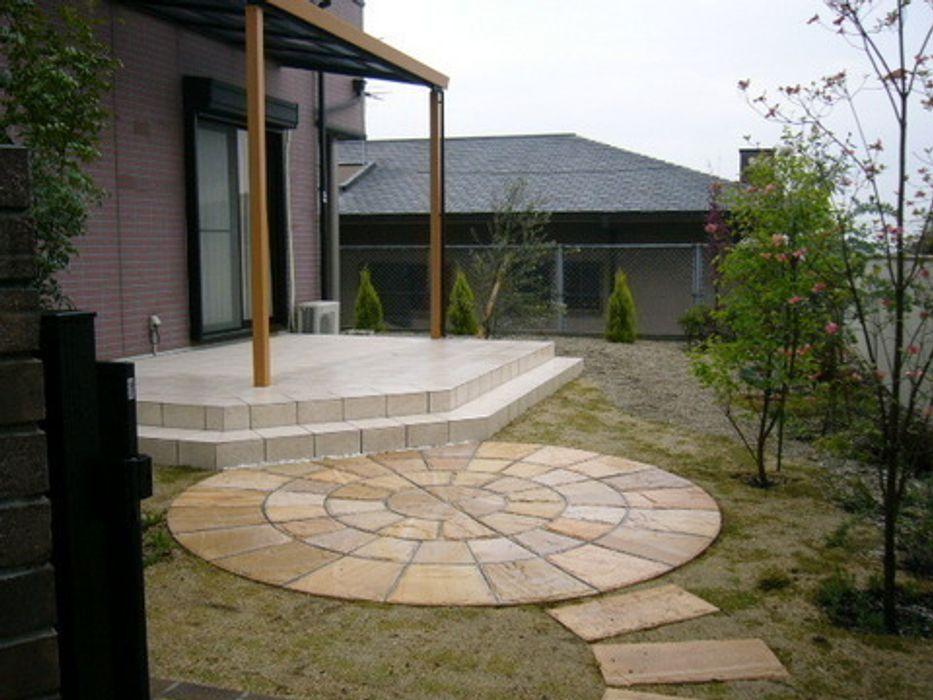 テラスの庭 2006 アーテック・にしかわ/アーテック一級建築士事務所 オリジナルな 庭