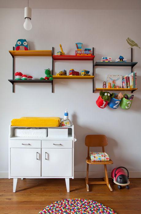 detail kinderkamer studio k Moderne slaapkamers