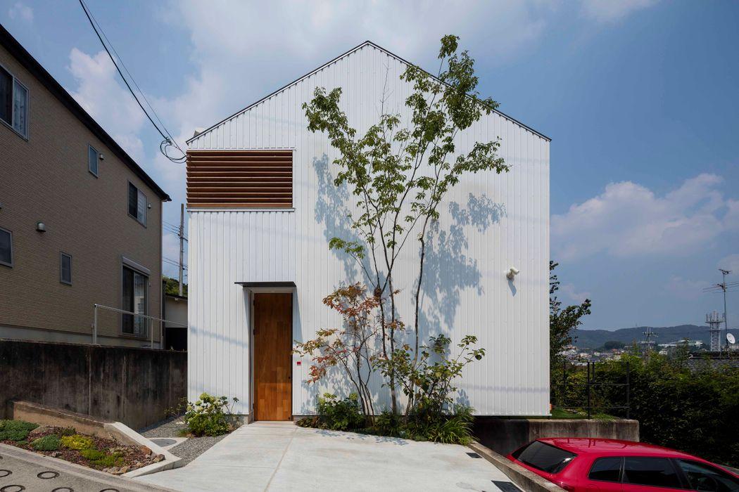 生駒の家 House in Ikoma arbol モダンな 家