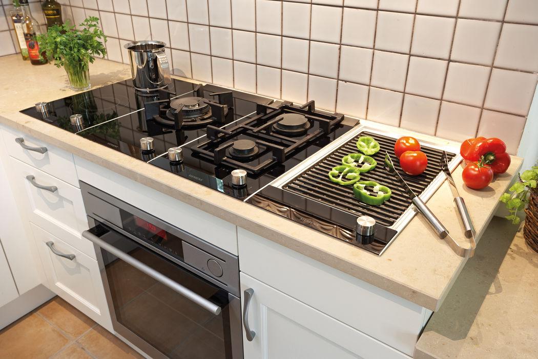 Siemens Domino-Kochstelle Küchenquelle KücheElektronik