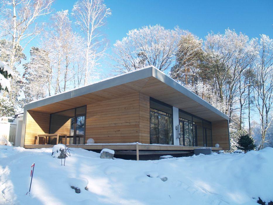 Einfamilienhaus Neubau Cousin Architekt - Ökotekt Moderne Häuser