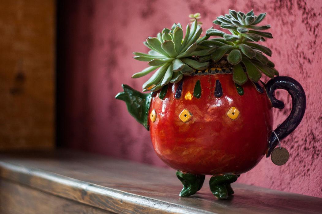 Bule elefante. Ateliê de Cerâmica - Flavia Soares JardimPotes vasos