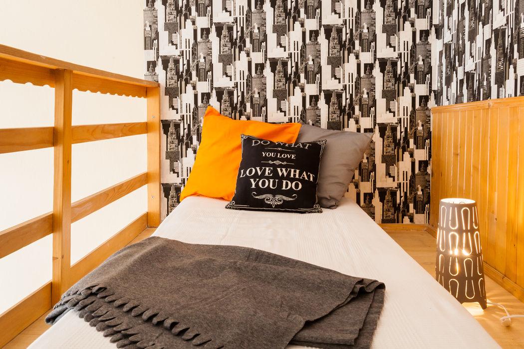 Sypialnia po home stagingu Sceny Domowe