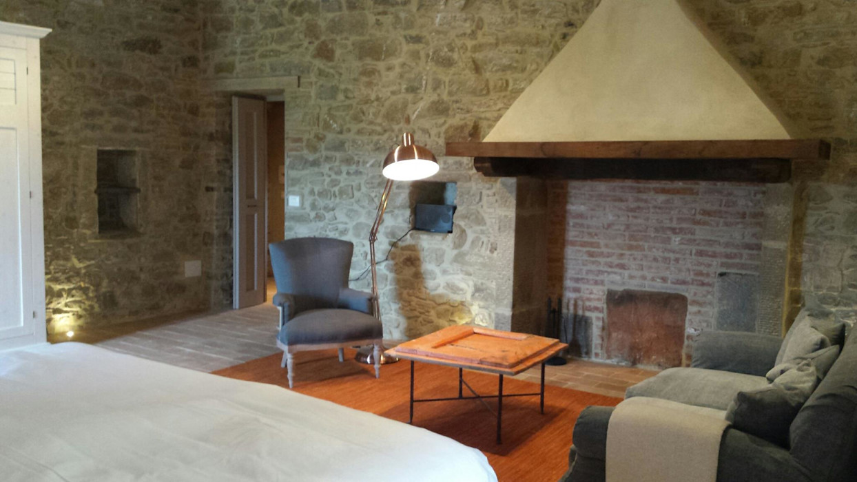 Marcello Gavioli Rustic style bedroom