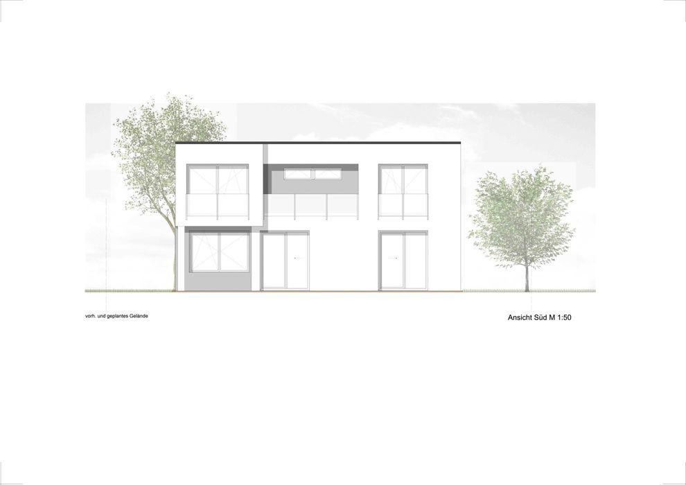 Architekturbüro Pieper-Ballenberger Casas modernas
