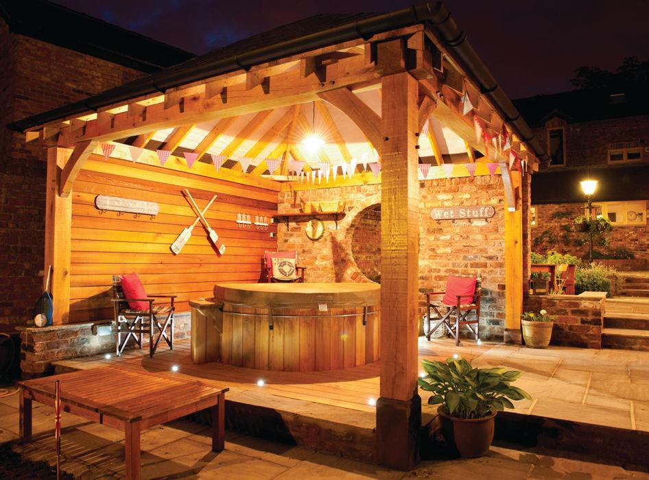 Gazebo's and Pavilions Cedar Hot Tubs UK Spa