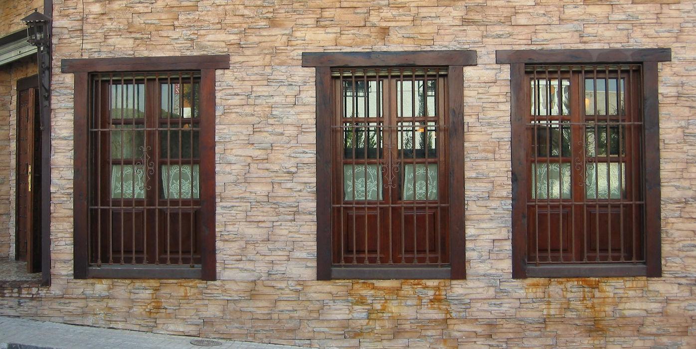 Ventanas de madera homify Puertas y ventanasVentanas