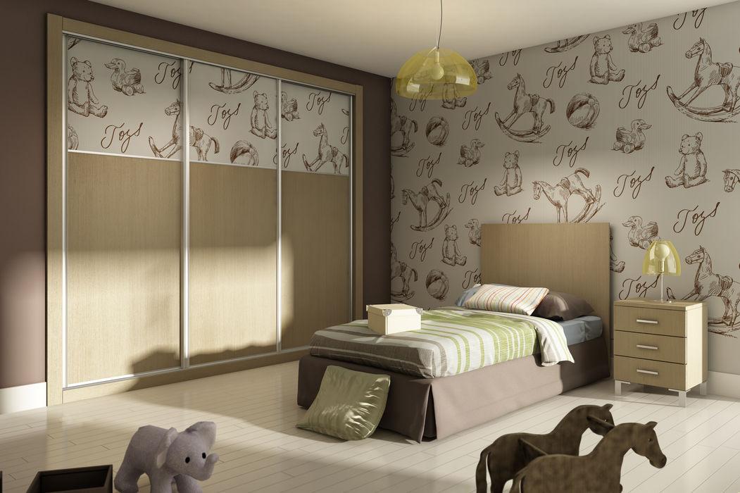 Dormitorio infantil AstiDkora DormitoriosArmarios y cómodas