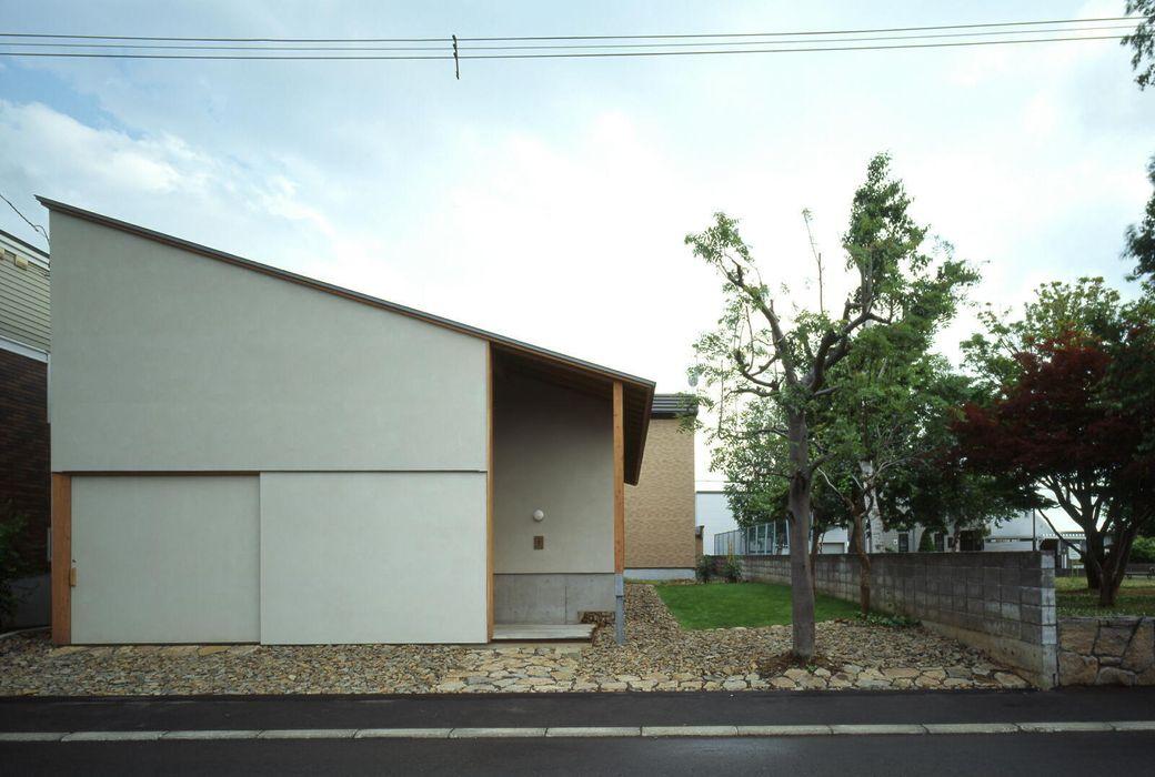 外観1 キタウラ設計室 オリジナルな 家