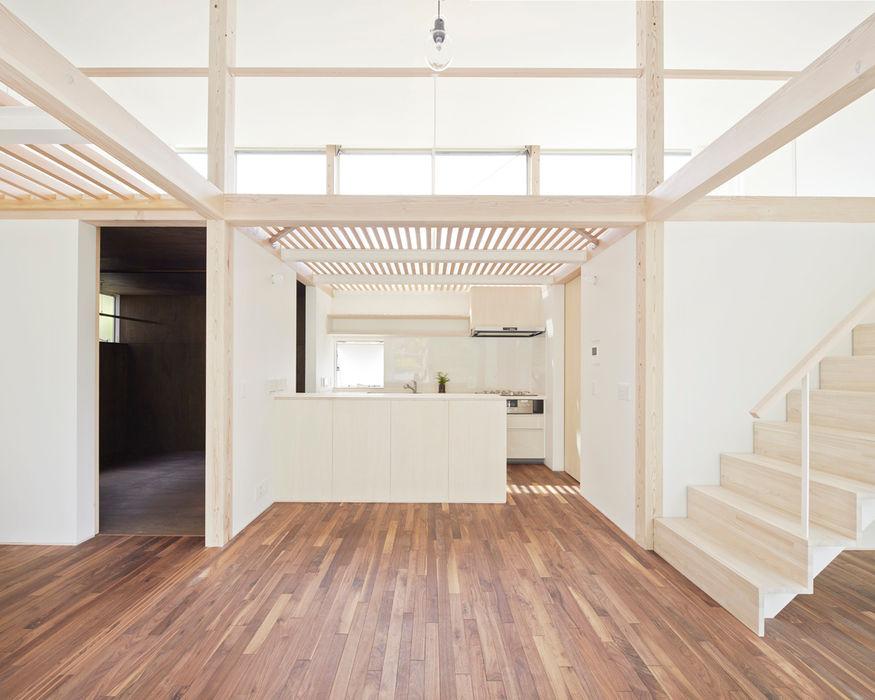白砂孝洋建築設計事務所 Minimalist kitchen