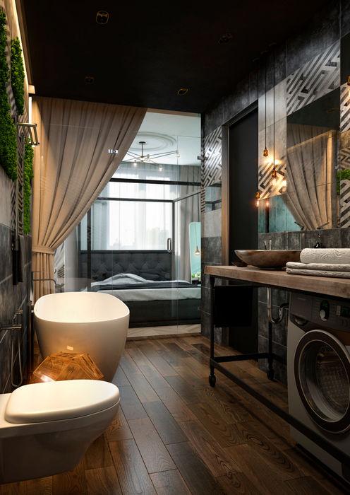 Verge of luxury SVAI Studio Ванная комната в эклектичном стиле