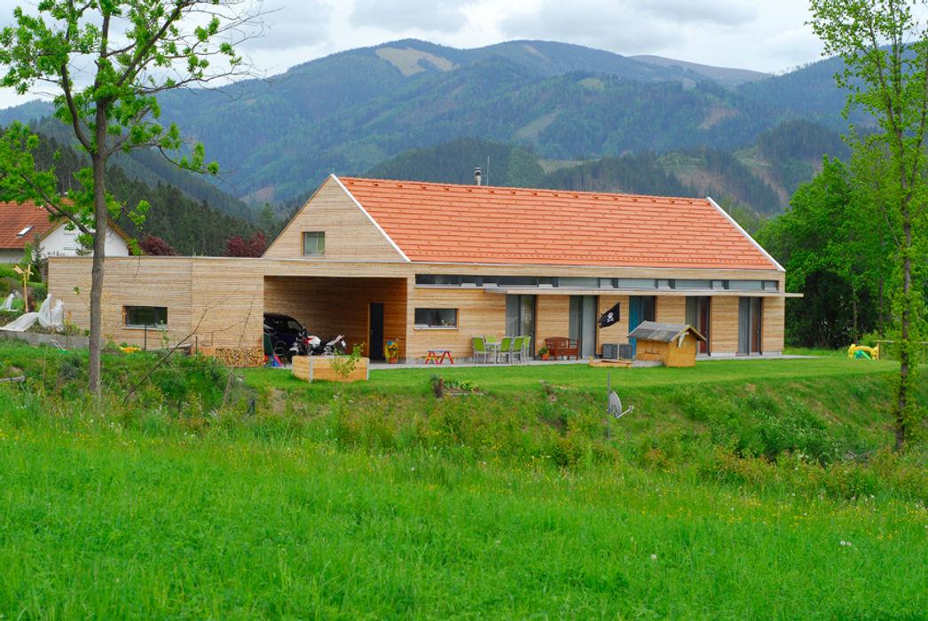 Wohnen am Land Arch. DI Peter Polding ZT Landhäuser Holz