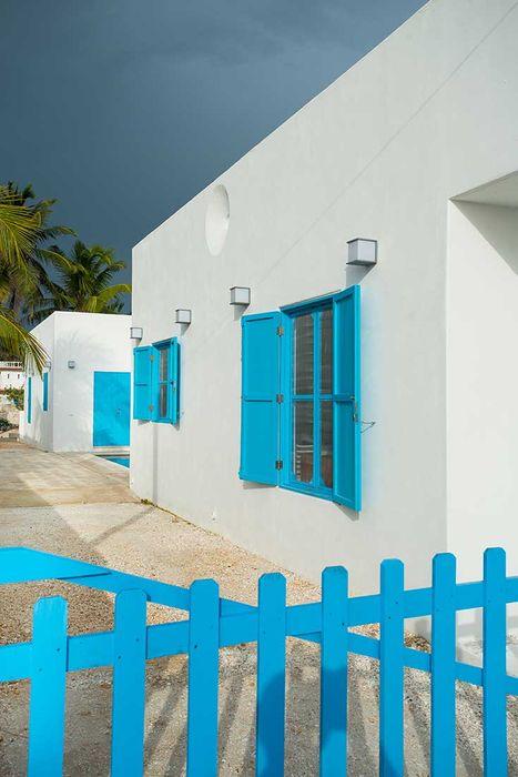 Villas Chuburná Puerto Arq Mobil Casas mediterráneas Blanco