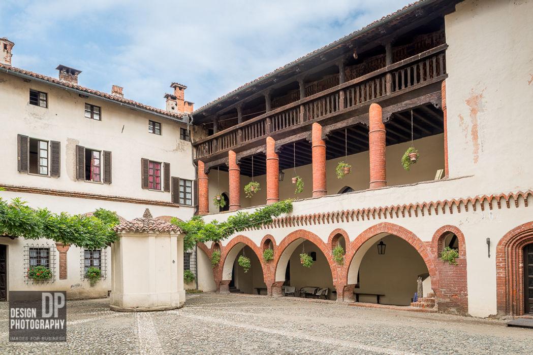 Castello Design Photography Balcone, Veranda & Terrazza in stile rurale