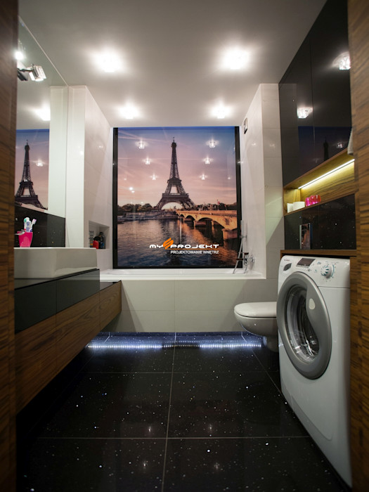 MYSprojekt projektowanie wnętrz Ванна кімната