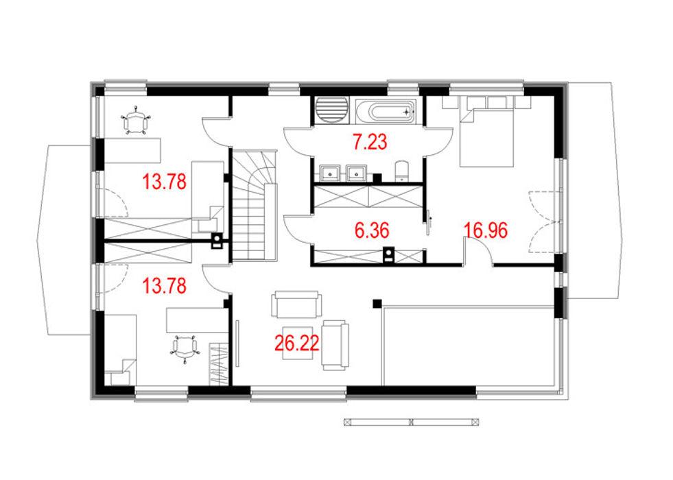 Projekty domów - House 10 Majchrzak Pracownia Projektowa