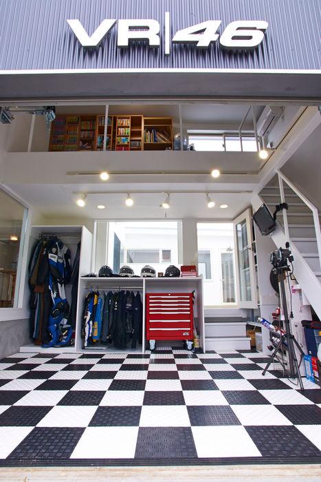 tai_tai STUDIO Modern garage/shed