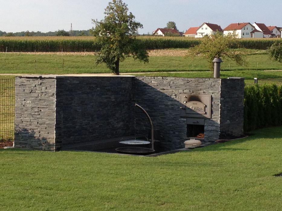 Referenzen- Naturstein MM NATURSTEIN GMBH Moderner Garten