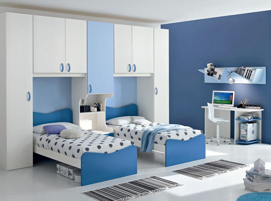 Juvenil homify Habitaciones infantilesCamas y cunas