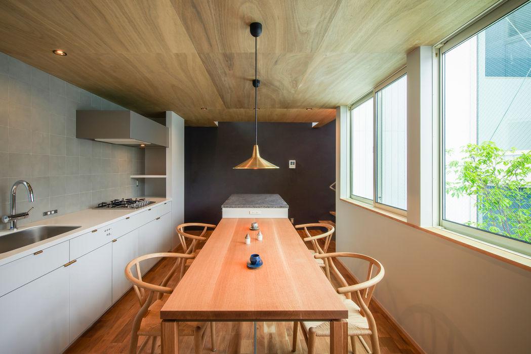 Nobuyoshi Hayashi Ruang Makan Modern