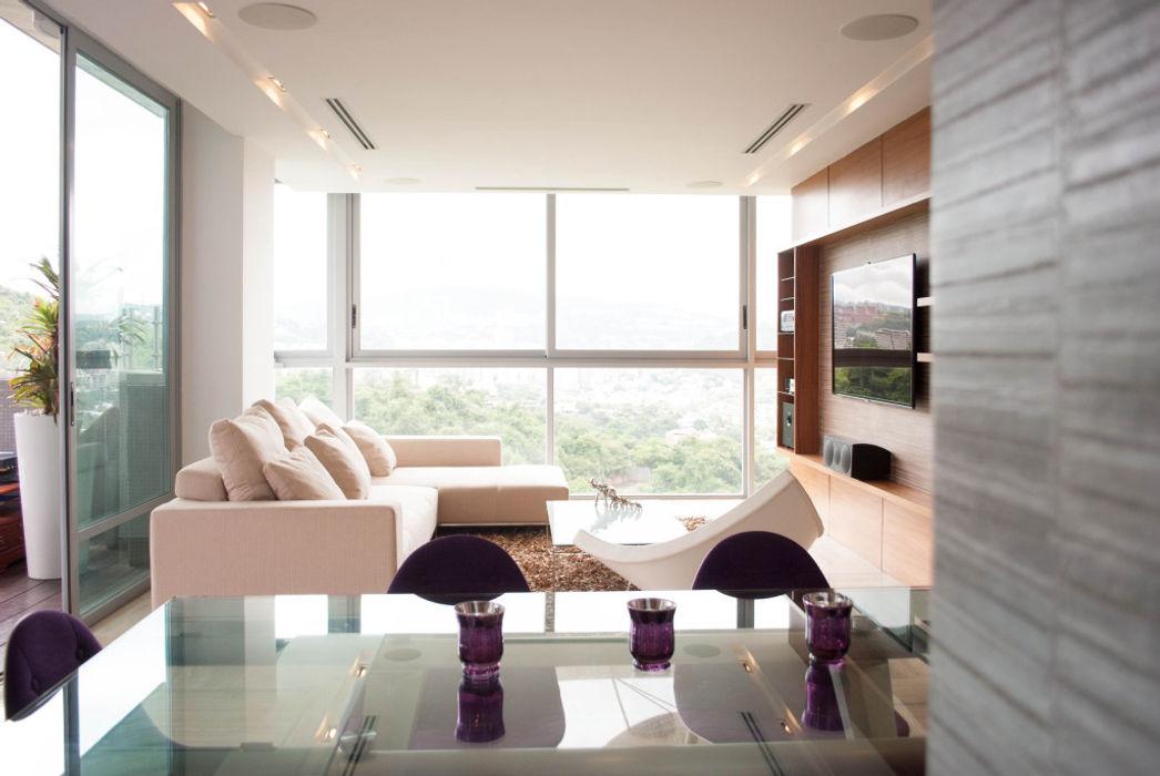 PH Altozano VODO Arquitectos Salas de estilo moderno