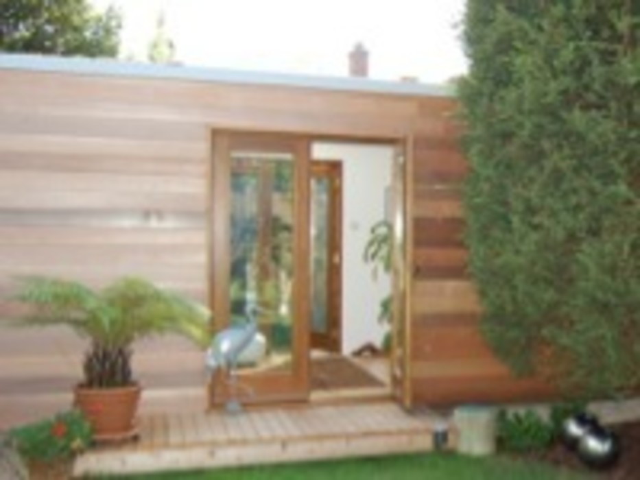 Orchard House Ivon Blumer Architects Balcon, Veranda & Terrasse modernes