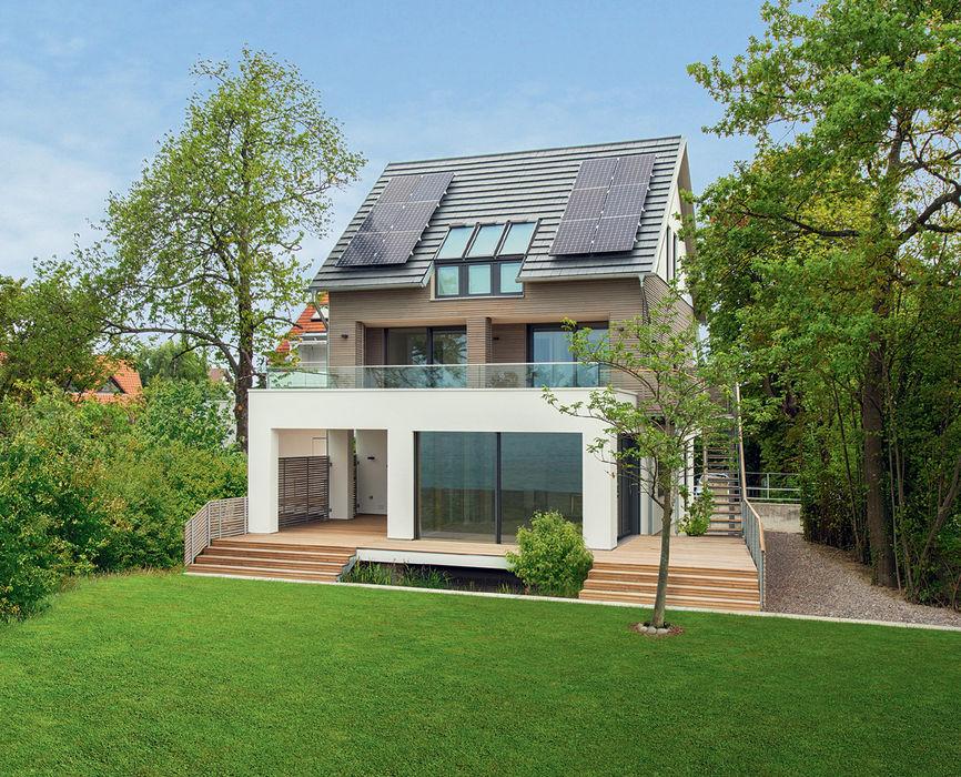 Haus am See Bau-Fritz GmbH & Co. KG Moderne Häuser