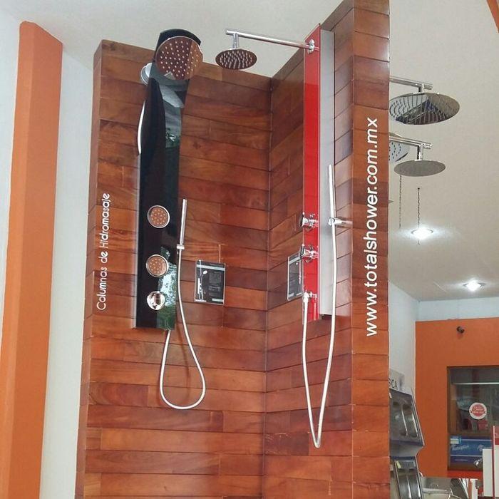 Panel de cristal templado Totalshower BañosBañeras y duchas