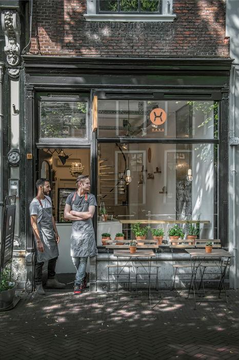 Haka Pure Salad Bar Design Studio Nu Industriële gastronomie Zwart
