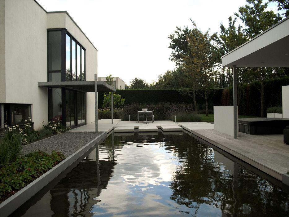 Magistrale zichtlijn Sparq Tuinen Moderne tuinen