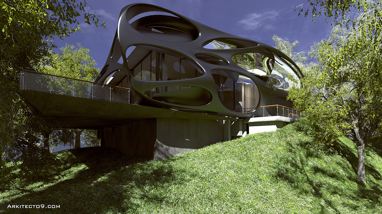Oficinas arquitecto9.com Casas modernas