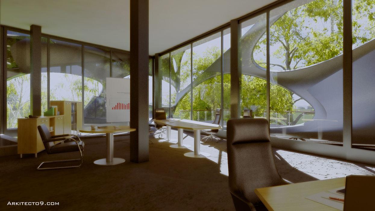 arquitecto9.com Modern study/office
