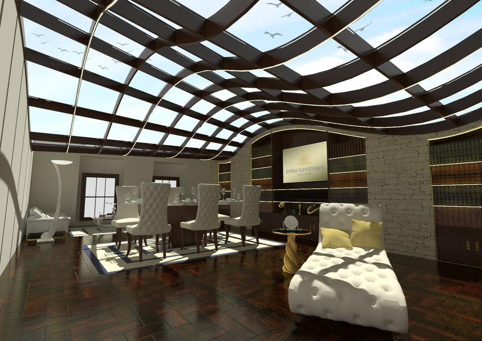 Mayfair House Debbie Flevotomou Architects Ltd. Brown