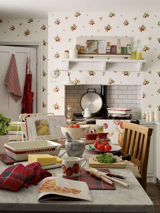 Menaje y accesorios para cocina Laura Ashley Decoración CocinaUtensilios de cocina Rojo