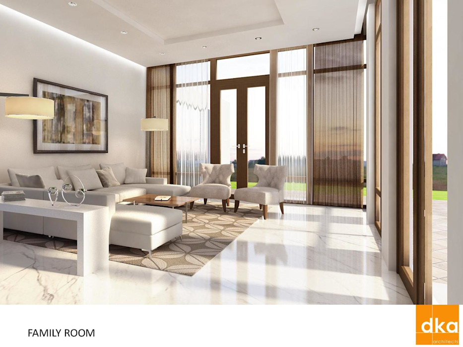 Poddar residence Dutta Kannan Partners Modern living room